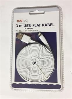 USB -FLAT KABEL   -  LADEKABEL